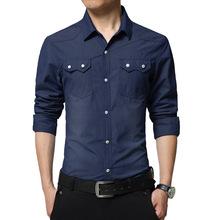Camisa Casual Masculina com bolso