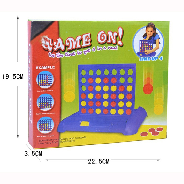Free Shipping !!! Wholesale 5pcs/lot Three-dimensional Bingo 3D Connect Four Chess Board Game Educational Toy Table Games #W123<br><br>Aliexpress