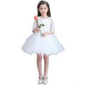 2016 latest high quality children s birthday flower girl dress wedding dress Half dress girls princess
