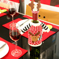 2016 Christmas Reindeer Santa Claus Elf Red Wine Bottle Cover Nonwovens Navidad Decoracion Kerst Decoratie Xmas