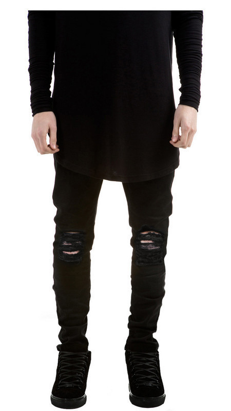 Compare Prices on Ripped Black Jeans Men Fashion- Online Shopping ...
