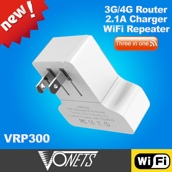 2014 VONETS Newest 300Mpbs 3G wifi router(China (Mainland))