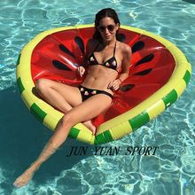 Buy 2016 Summer 160CM Pool Toy Funny Pool Floats Inflatable Watermelon Pool Floats Air Mattress Water Rafts Bed,Free for $63.64 in AliExpress store