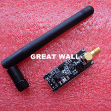 1sets Special promotions 1100-meter long-distance NRF24L01+PA+LNA wireless modules (with antenna)(China (Mainland))