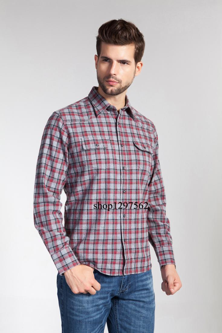 Buy 2015new essestone brand men casual for Best flannel shirt brands