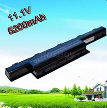 5200mAh laptop battery for Acer 31CR19/65-2 31CR19/652 31CR19/66-2 3INR19/65-2 AK.006BT.075 AK.006BT.080 AS10D AS10D31 AS10D3E