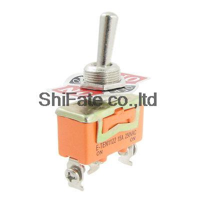 2 Pcs AC 250V 15A ON/OFF/ON 3 Position SPDT Toggle Switch Replacement(China (Mainland))