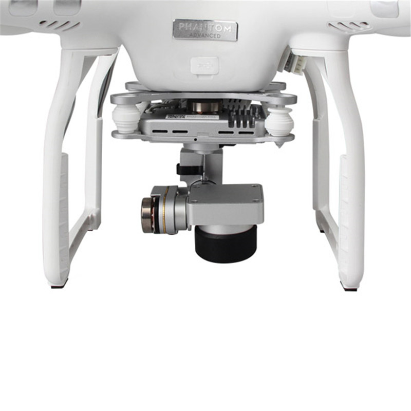 Upgrade For DJI Phantom 3 Soft Shell Lens Cover Transparent/Black For RC Camera Drone Accessories