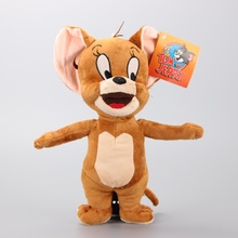 "Tom And Jerry Mouse Plush Dolls Lovely Cartoon Stuffed Animals Soft Toys Brinquedo Kids Gift 12"" 30 CM(China (Mainland))"