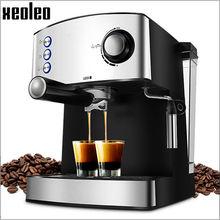 Xeoleo Espresso machine Full-Automatic Espresso Coffee maker Pump pressure Coffee machine 15pa 220V/850W/1.6L make Espresso