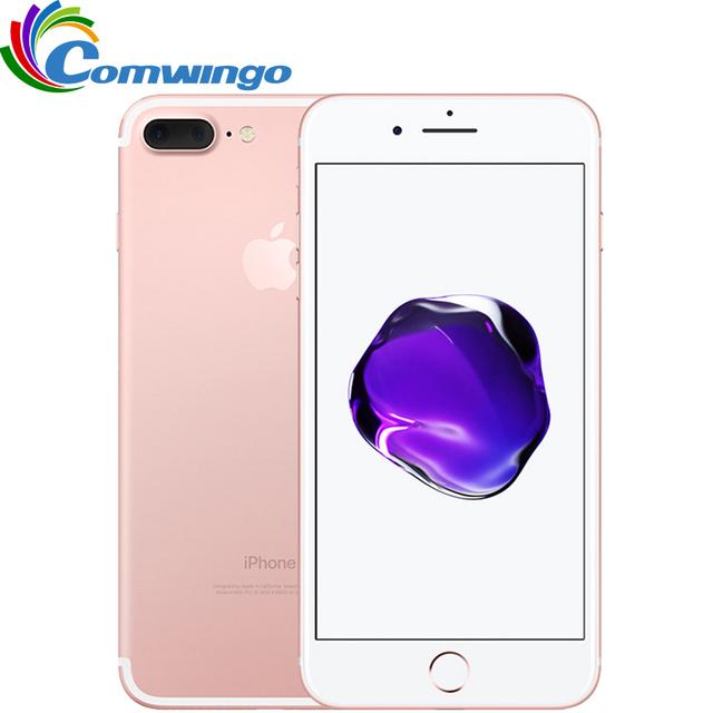 Оригинальный Apple iPhone 7 Plus Quad-Core 5.5 дюймов 3 ГБ ОПЕРАТИВНОЙ ПАМЯТИ 32/128 GB/256 ГБ IOS 10 LTE 12.0MP Камера iPhone7 Плюс Отпечатков Пальцев Телефона
