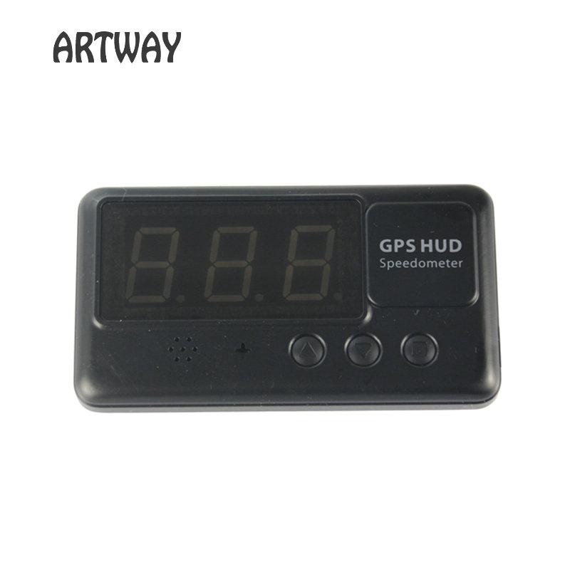 Speedometer Overspeed Alarm Car GPS Data Logger Hud Head Up Display GPS Logger(China (Mainland))