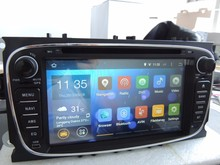 """""""YOKOTRON"""" 7"""" Touch 2 Din Android 4.4 Car Radio DVD Stereo Audio Autoradio for FORD Mondeo Focus 2 S-Max +GPS+Navigation(China (Mainland))"""