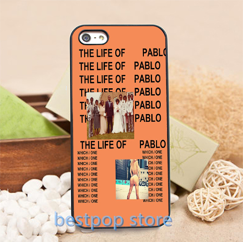 Kanye West The Life of Pablo cell phone case for iphone 4 4S 5 5S SE 6 6S 6plus 6s plus #0757S(China (Mainland))