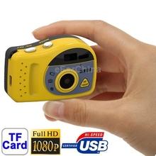 New Arrival T7000 Black, 1080P Mini Digital Camera/Mini DV, 3.0 Mega Pixels Support TF Card, Black Yellow 2 Colors New Arrival