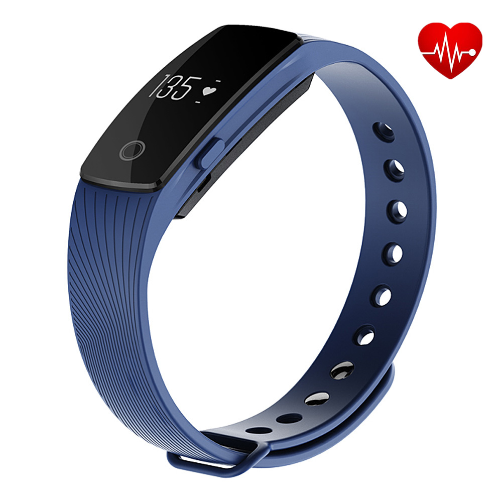 Smart band ID107 Heart Rate Monitor Bluetooth 4 0 Bracelet Fitness Tracker Wristband smartband for iphone