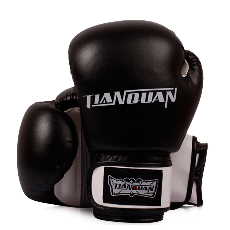 Free shipping quality goods sell like hot cakes boxing gloves fists/ventilation type / black Red Blue(China (Mainland))