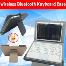 High Quality Wireless Bluetooth Keyboard Case Cover for teclast X80 plus x80plus Bluetooth Keyboard Case+free 4 gifts(China (Mainland))