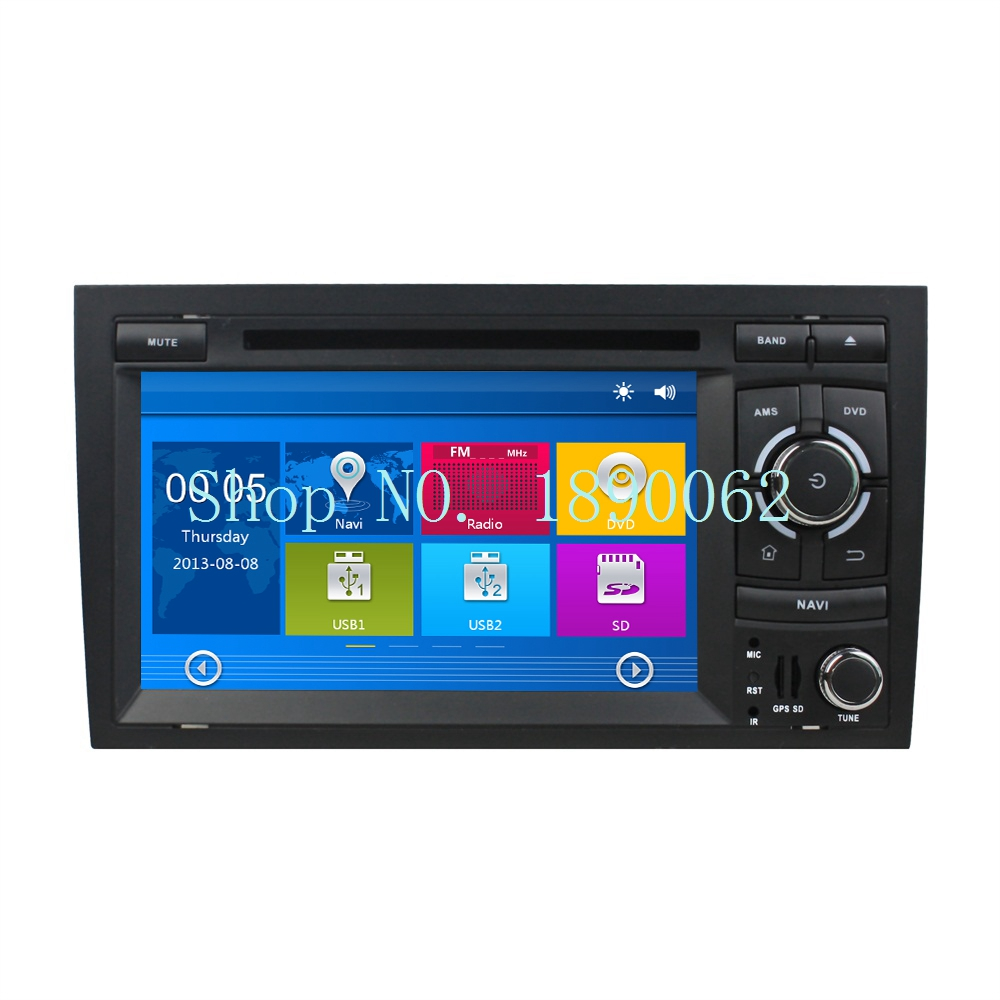 7 inch 2 din car stereo dvd player for audi a4 2003 2013 for Mueble 2 din audi a4