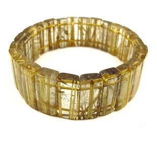 Titanium natural crystal - - - top copper shunfa titanium crystal bracelet rutilated crystal lucky(China (Mainland))