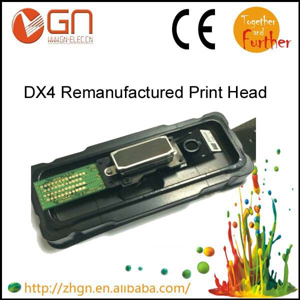 Refurbished for Epson DX4 Print Head for Mimaki JV3 for Roland RS/XJ/SC/SP/VP/XC/SJ/FJ540/640/740 printer solvent dx4 printhead(China (Mainland))