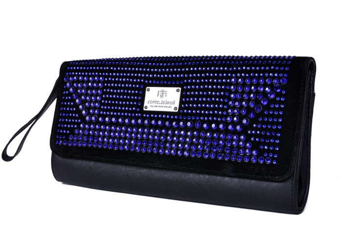 H1192 *ONLY ONE * Party Queen Black With Blue bling Sequins Evening Bag Clutch Bag FREE SHIPPING DROP SHIPPING WHOLESALE(China (Mainland))