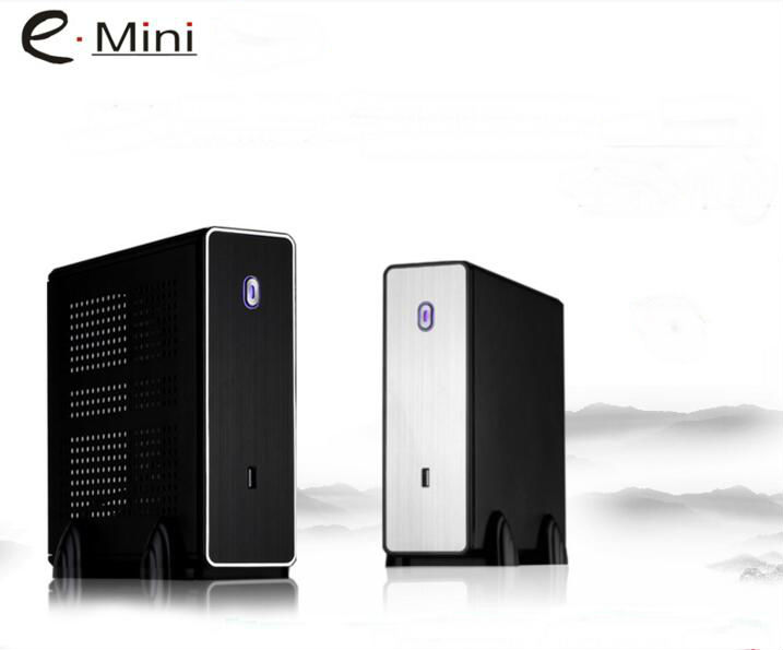 2016 Mini ITX Computer Case HTPC Case PC Chassis POS Case Black Small(China (Mainland))