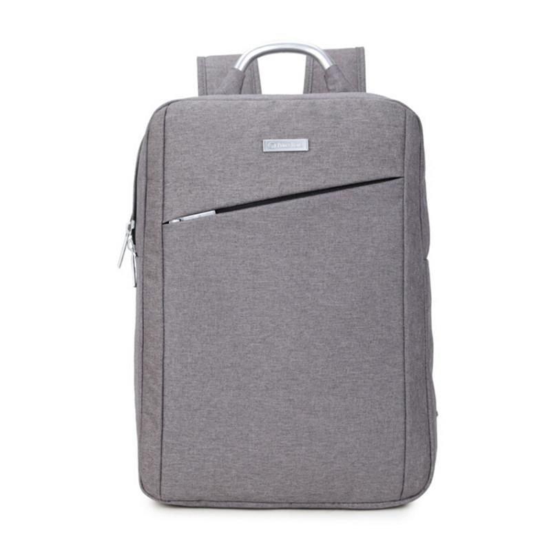 ZL3136 Simple fashion business casual shoulder bag backpack Men Women 16-inch computer backpack<br><br>Aliexpress