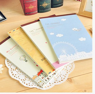 Korea  stationery  set hand drawing paper letter paper  54 sheets/set =1 note pad / wholesale discounts / free shipping<br><br>Aliexpress