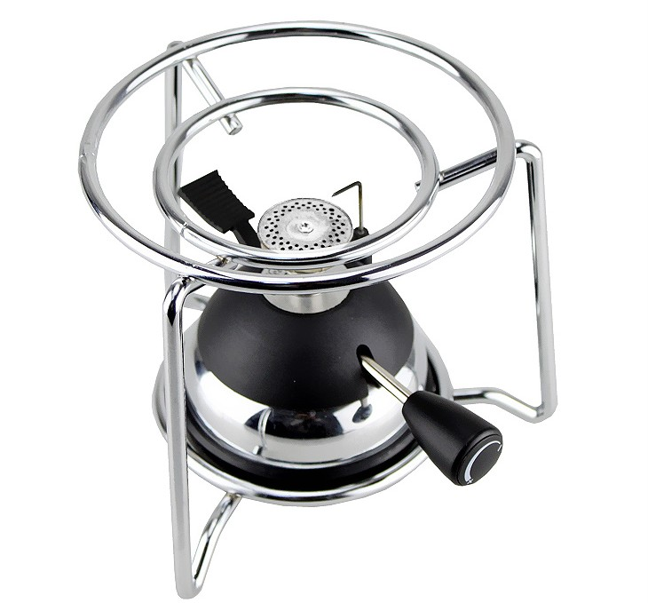 Timemore T-GF02 Mini Gas stove Outdoor Portable Metal/Plastic head Gas stove+ iron Oven rack(China (Mainland))