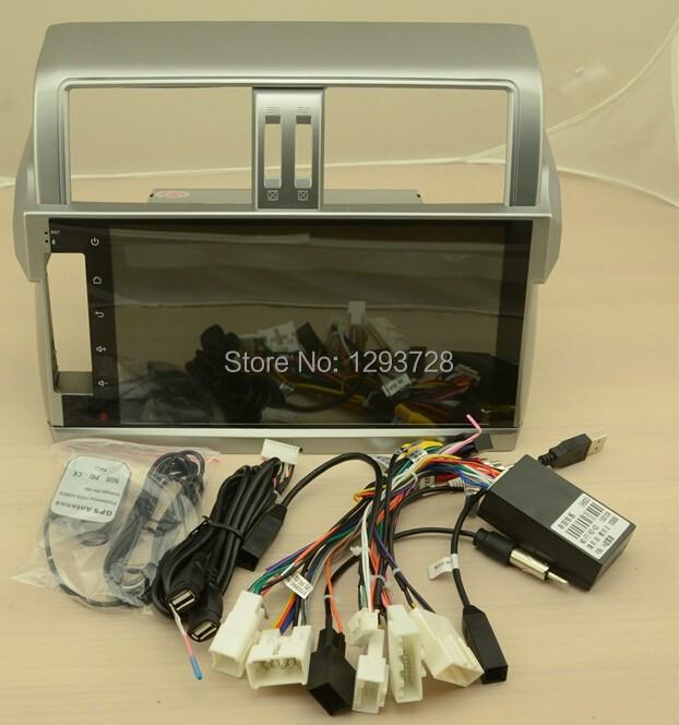 "Nand Flash 16GB ,Toyota Prado 2014 ,10.2"" Android 4.4.2 Auto Radio Stereo GPS Navi Headunit Audio Video Player Capacitive Screen(China (Mainland))"