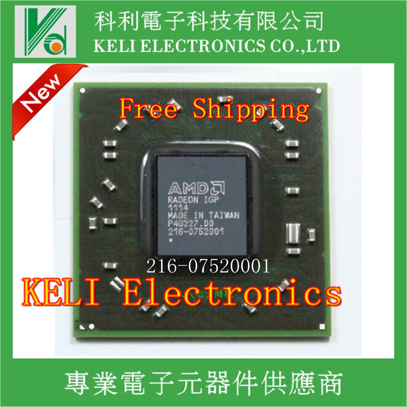 Free Shipping 1PCS/LOT 216-0752001 216 0752001 BGA chipset Test well refurbished(China (Mainland))