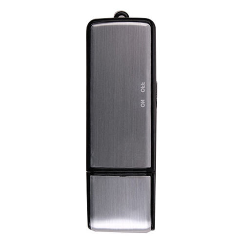 USB MEMORY STICK Rechargeable 8GB 650Hr sound Voice Recorder Pen Silver Free shipping(China (Mainland))