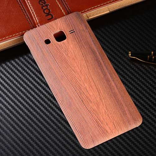 Wood Bamboo Pattern Case For Samsung Galaxy Grand Prime G530 G530H G5308W G5308 Back Battery Cover Housing Replacement Parts(China (Mainland))