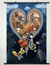 Kingdom Hearts Anime Fabric Wall Scroll Poster Inches Japan Cos