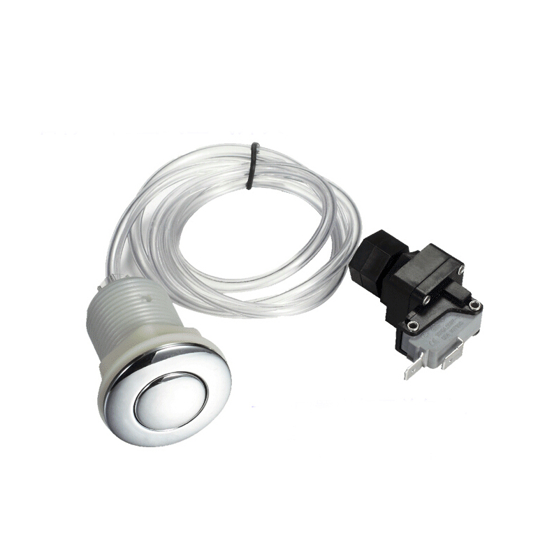 Garbage Disposer Spa Bathtub Pneumatic Air Switch Button Kit for insinkerator evolution food waste equipment(China (Mainland))
