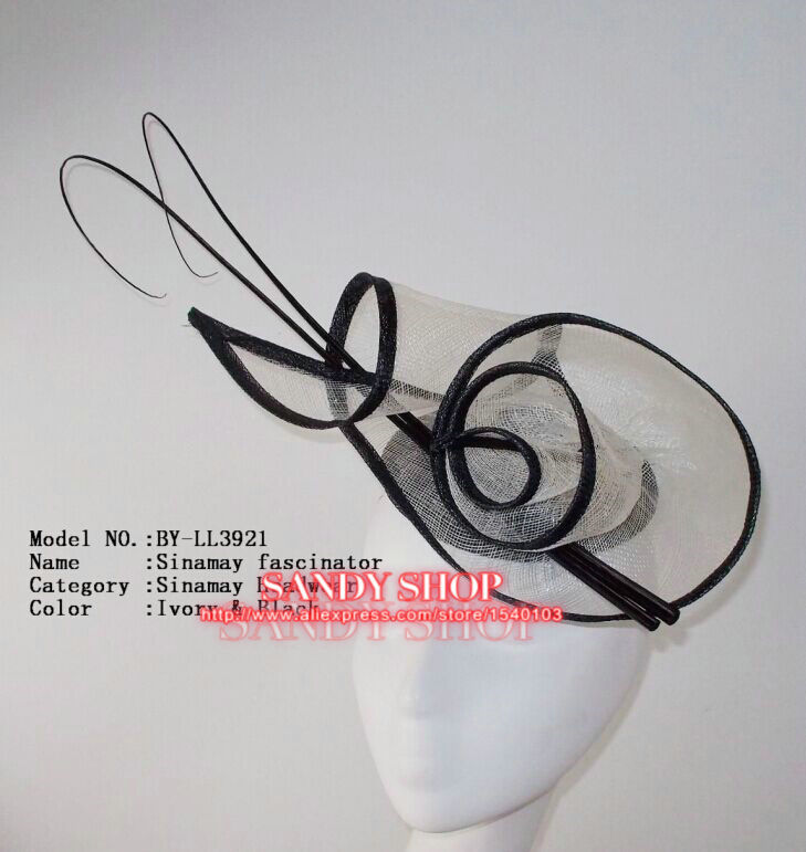 HOT Wedding Party Carnival Races Feather Millinery Fascinator lady Hat(China (Mainland))