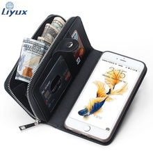 """New multi-purpose wallet 2 in 1 Premium Weave Pattern PU Leather Wallet Purse Phone Case for iPhone 6S plus 5.5""""(China (Mainland))"""