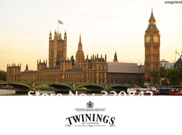 Гаджет  Promotion! 25PCS import from United Kingdom 2012 TWININGS Lady Grey tea, health original Black tea ,surprise price free shipping None Еда
