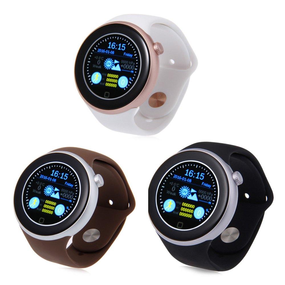 AIWEAR C1 Dual Bluetooth Heart Rate Track Smart Watch with Siri Gesture Control Flashlight Calculator Support Siri WiFi Alarm(China (Mainland))
