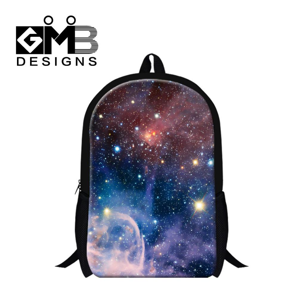 Fashion School Backpack Galaxy Star Universe Space School Bags For For Girls Teenager Casual Men Women Travel Rucksack Mochila(China (Mainland))