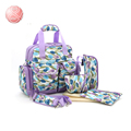 New Arrival Portable dot Multifunctional Large capacity Maternity mother Travel diapering bags infanticipate Changing bag Bolsas