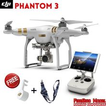 Newest Dji phantom 3 PROFESSIONAL & ADVANCED Drone RTF, with 4K Full HD wifi camera & Brushless Gimble,GPS system ,