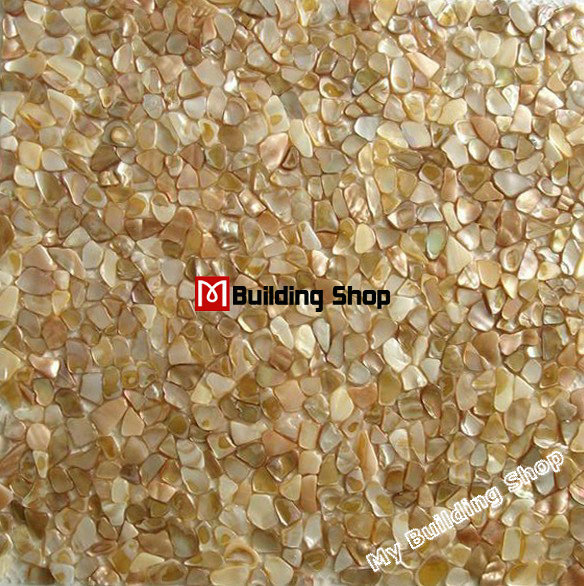 gold mother of pearl mosaic tile backsplash mop066 yellow shell mosaic