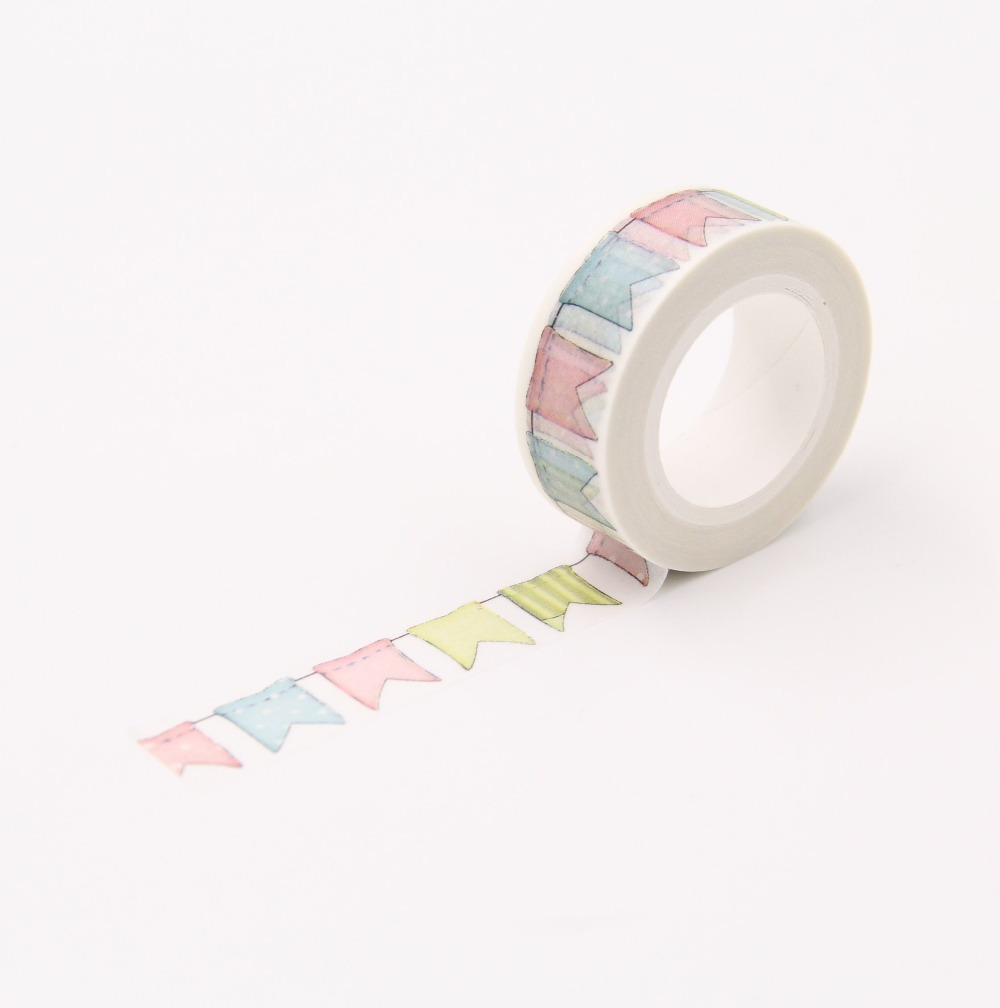 nice decrative tapes 1 5 x 10m washi paper masking tape. Black Bedroom Furniture Sets. Home Design Ideas