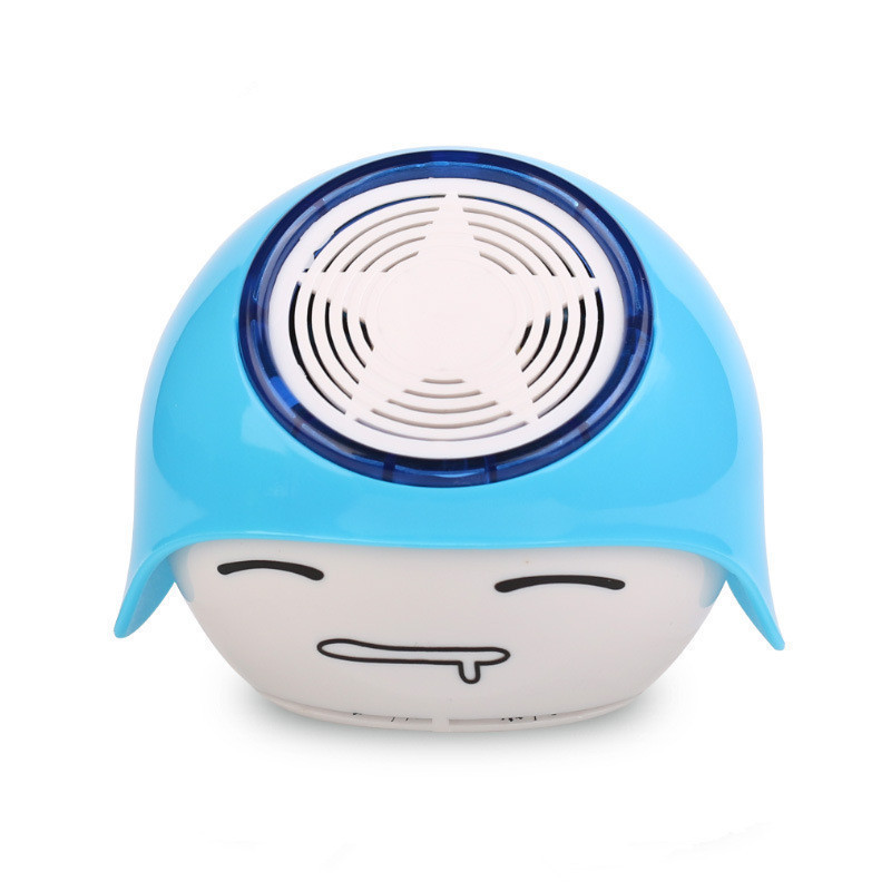 Free Shipping Mini Cute Negative Ion Air Purifier Office PC Laptop Use Household Car Charger Air Cleaner(China (Mainland))