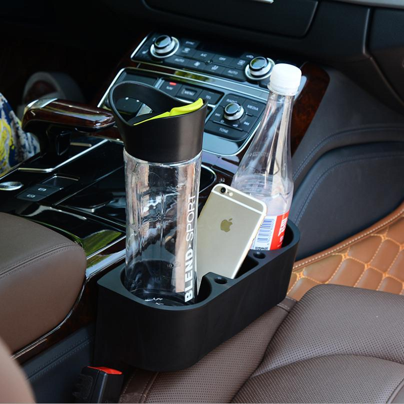 Car Drink Holder Cup Stands Seat Side For Auto Swivel Mount Holders Travel Drinks Cup Coffee Bottle Table Stand Food Rack Tray(China (Mainland))