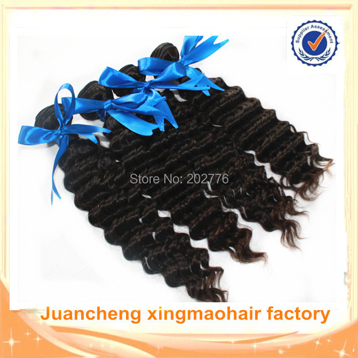 brazilian deep wave virgin hair 6a cheap brazilian curly virgin hair extensions mixed length 3 or 4pcs/bundles lot free shipping