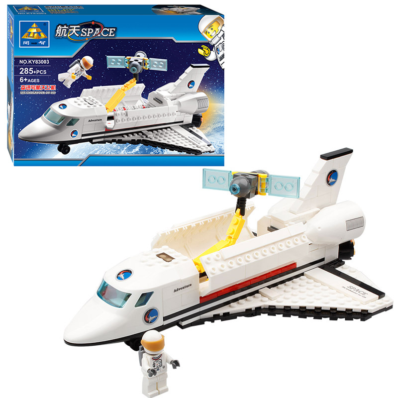 Kazi Space series 83003 Endeavour Space Shuttle 285pcs Building Block Boys Bricks Toy Great For Children Gift(China (Mainland))