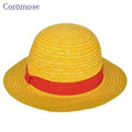 Coromose ONE PIECE Fashion Straw Hats Sun Hat Cosplay Cap Freeshipping CM01